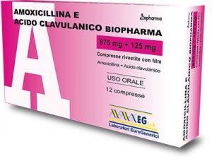 amoxicillina acido clavulanico