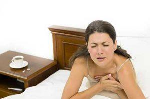 dolore al petto polmoni