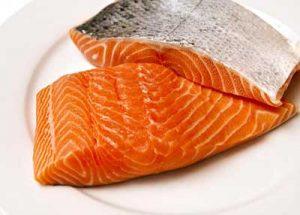 mononucleosi dieta salmone