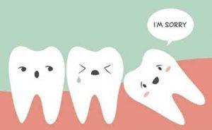 denti del giudizio posizione