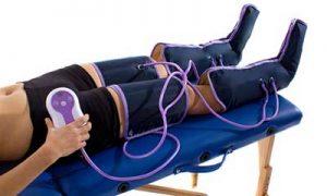 pressoterapia gambe