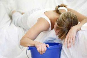 mycostatin nausea