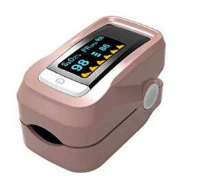 misuratore di pressione dito